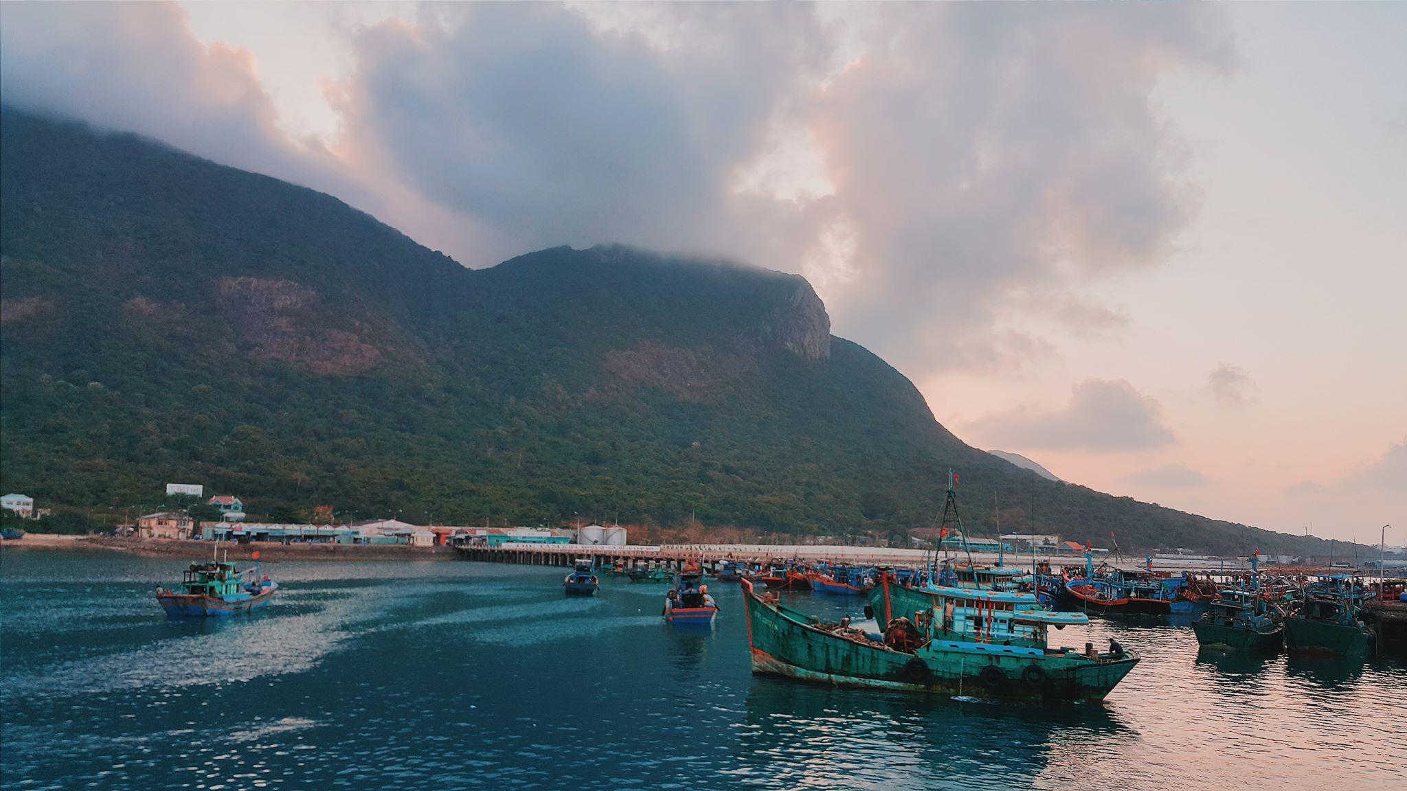 Cảng Bến Đầm - Côn Đảo