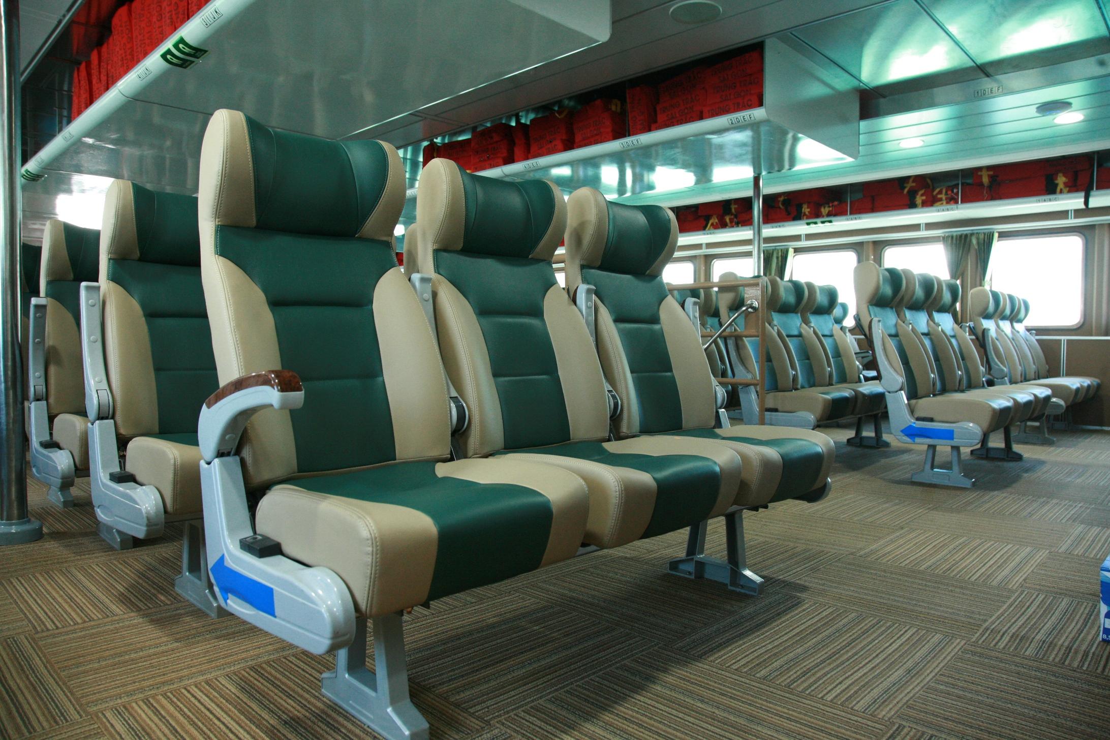 Ghế Eco tàu cao tốc Cần Thơ - Côn Đảo