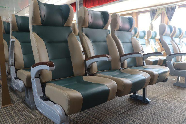 Ghế Eco tàu siêu tốc Côn Đảo Express