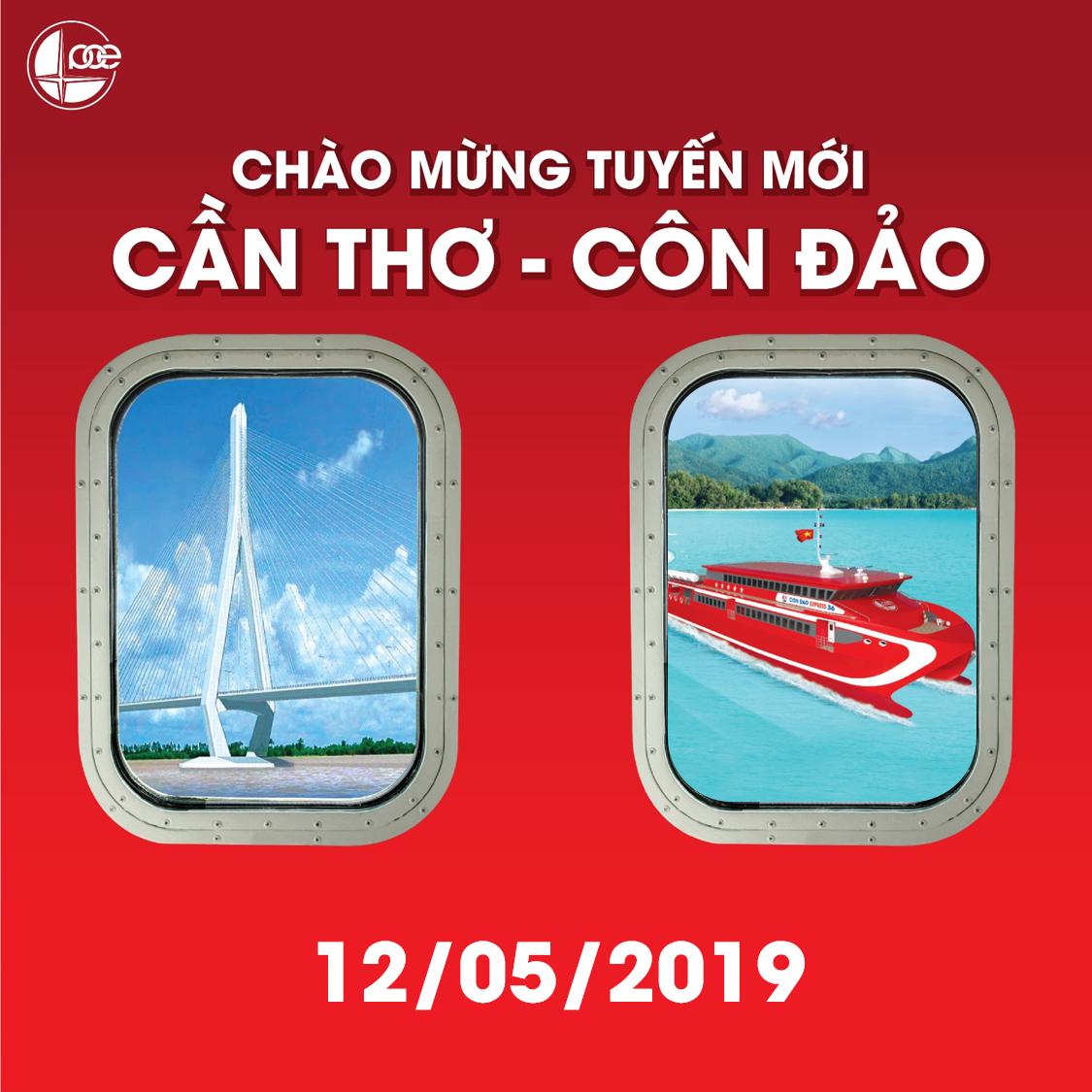 Chào mừng tuyến mới Cần Thơ - Côn Đảo