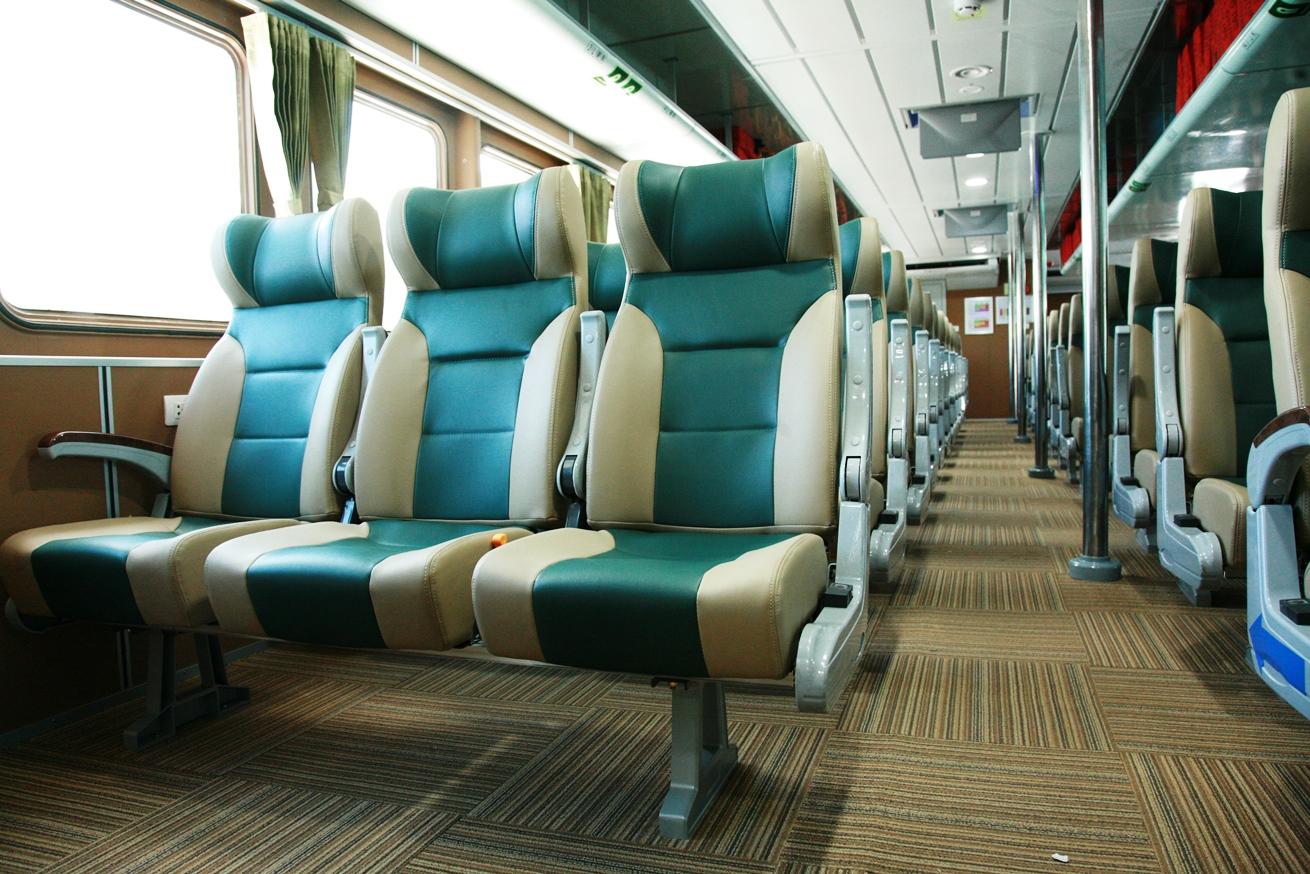Ghế ECO tàu cao tốc Côn Đảo