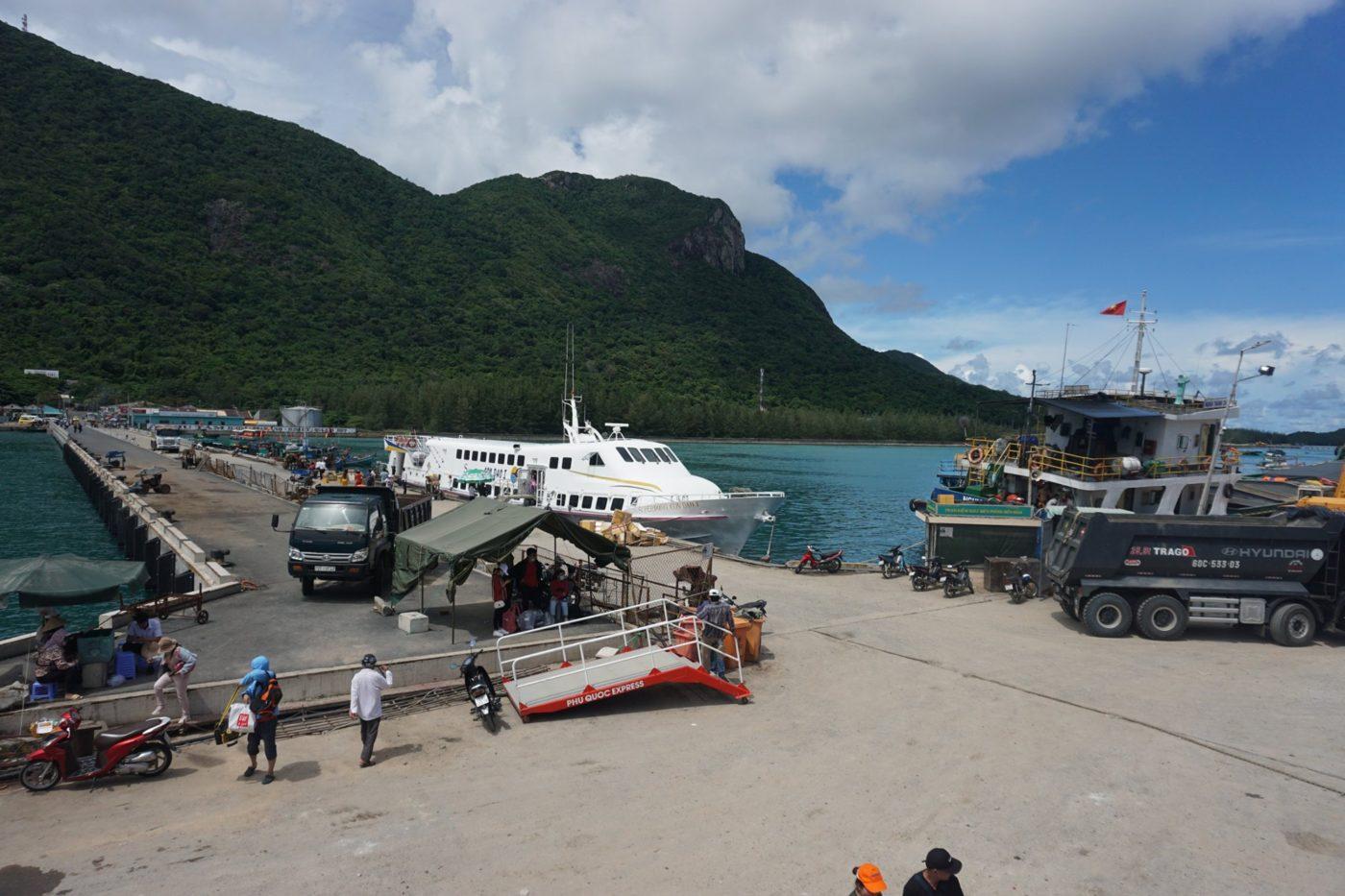 Cảng Bến Đầm, Côn Đảo