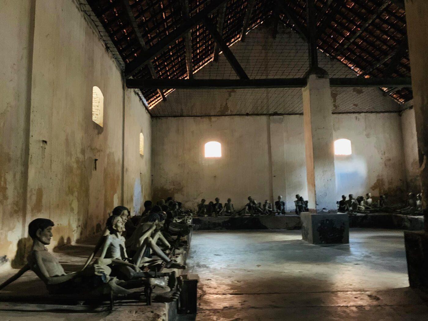 Tù nhân tại nhà tù Côn Đảo
