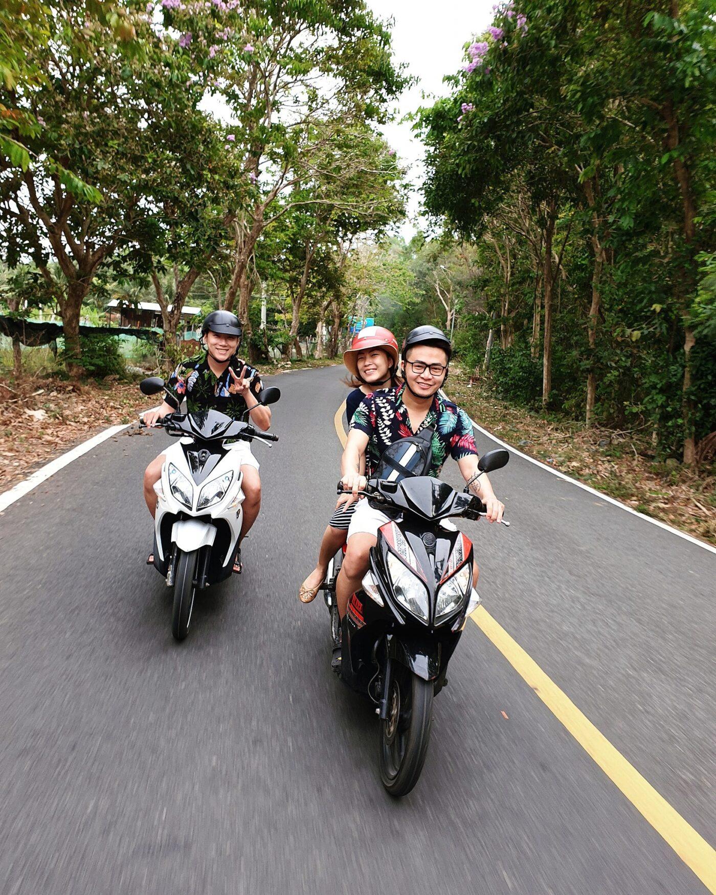 Tự do khám phá những cung đường tại Côn Đảo bằng xe máy